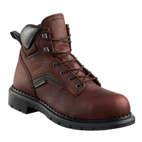 RED WING Brown 6inch Safety Boots Style
